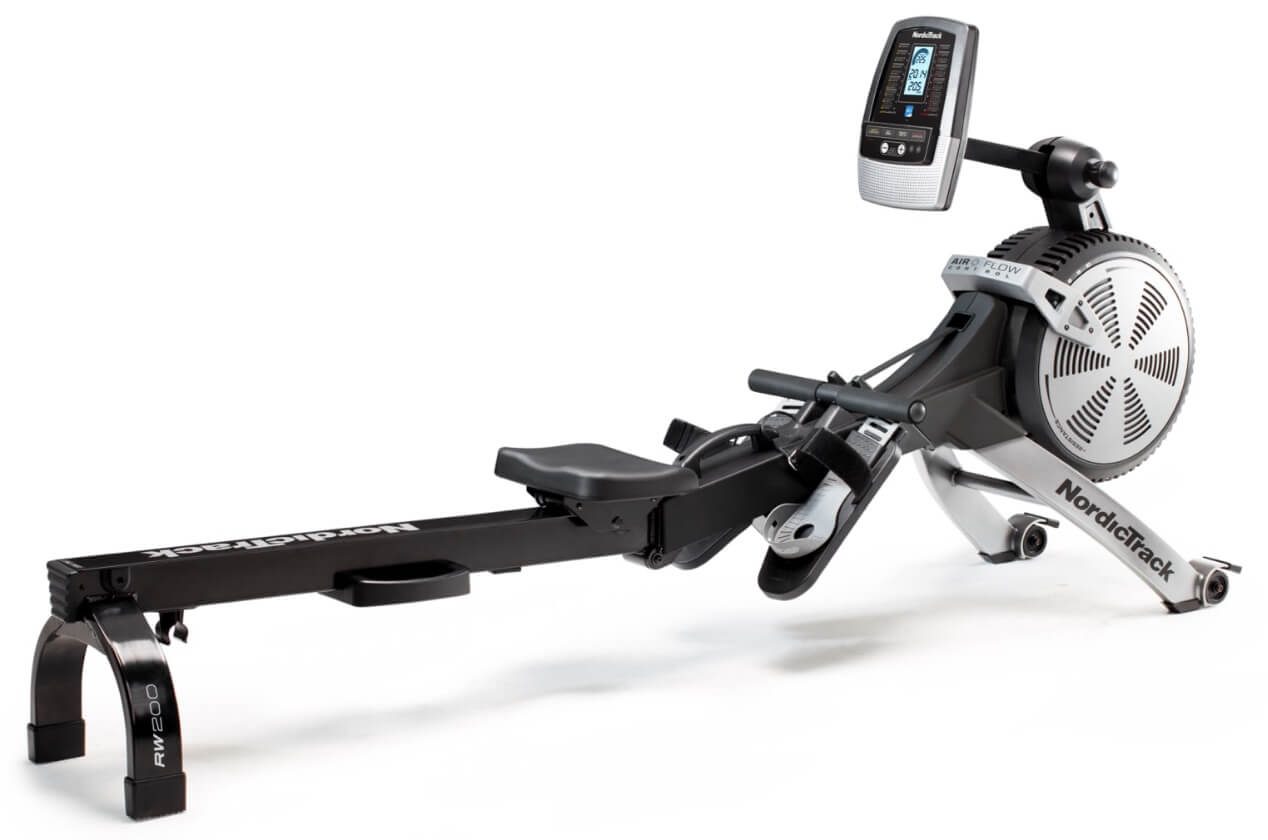 Roeitrainer review: NordicTrack RW200